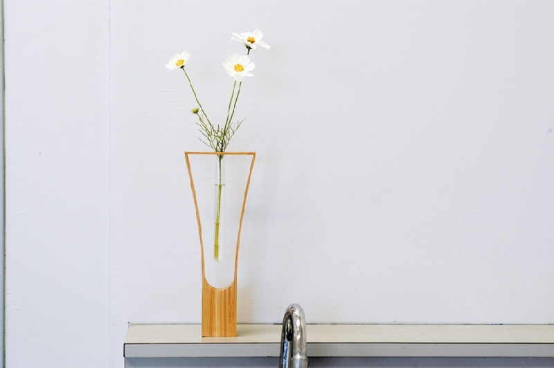 HOLLOW (Teori) 竹製の一輪挿